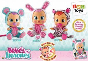 Кукла Плачущий младенец (Лея, Ляля, Кони) Cry Babies от IMC Toys