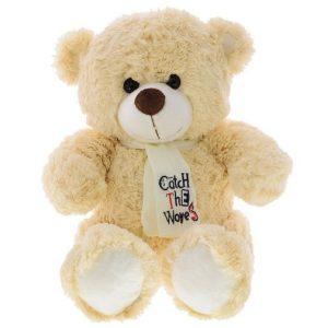 Мягкая игрушка Медведь Тишка с галстуком 30 см Button Blue
