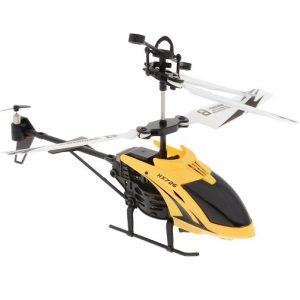 Вертолет на радиоуправлении Желтый Tech IR-315 Mioshi
