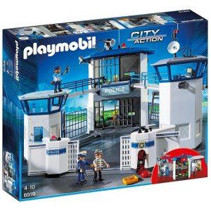 Игровой набор Штаб полиции с тюрьмой Playmobil 6919