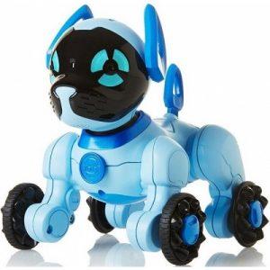 Интерактивная игрушка Собачка робот Чиппи (голубой) Chippies WowWee 2804