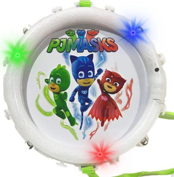 Барабан супергероя с подсветкой Герои в масках PJ Masks