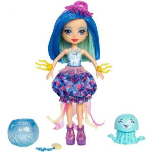 Enchantimals Игровой набор с куклой Морские подружки с друзьями цвет синий
