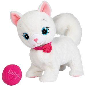 Интерактивная игрушка Кошка Бьянка с клубком Abtoys Bianca