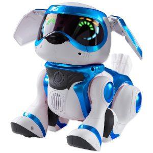 Интерактивная собака Teksta Голубая Robotic Puppy 65331 Manley Toys