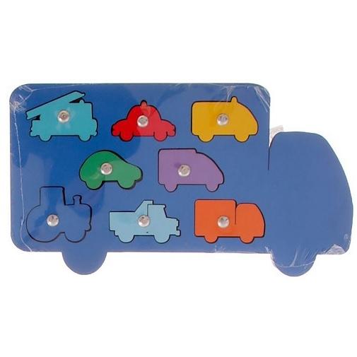 Обучающая магнитная игра Машины Smile Decor