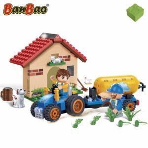 BanBao Конструктор Фермерский домик 185 деталей