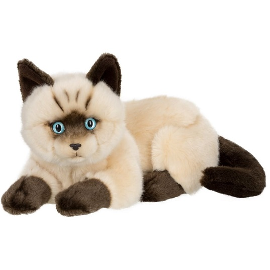 Игрушка Сиамский кот лежит 25 см Anna Club Plush IBTT B.V.