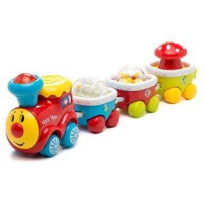 Музыкальная игрушка Паровозик-трещетка Умка