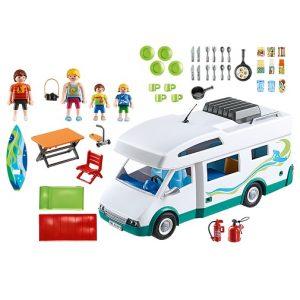 Playmobil Аквапарк Семейный автомобиль-дом на колесах 6671PM