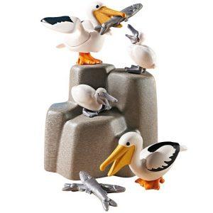 Игровой набор Аквариум Семья пеликанов Playmobil 9070