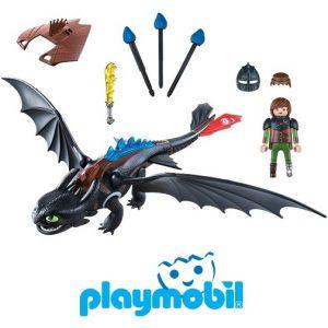 Игровой набор Драконы Иккинг и Беззубик Playmobil 9246