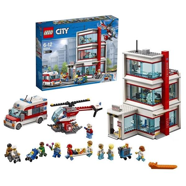 LEGO City Town Конструктор Городская больница 60204