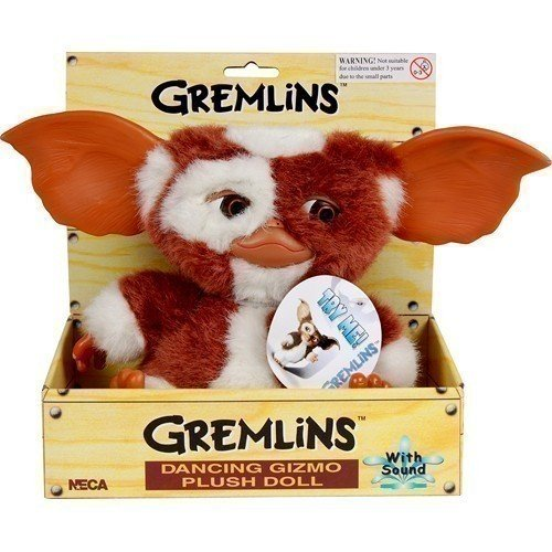 Neca Мягкая игрушка Гремлин Gremlins Dancing Gizmo 28 см