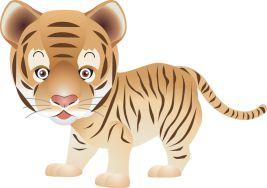 Игрушки и сувениры 2022 символ года Тигр (черный, водяной)
