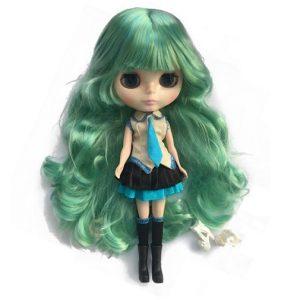 Кукла Школьница Блайз с зелеными волосами Blythe