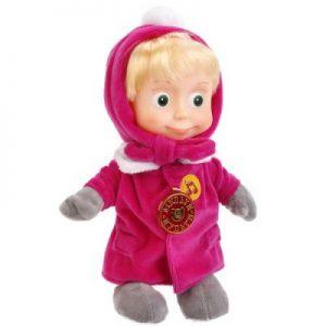Мягкая игрушка Маша в зимней одежде 29 см Маша и медведь Мульти-Пульти
