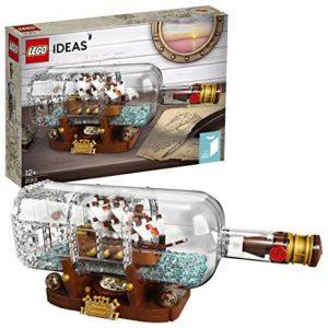 Конструктор Lego Корабль в бутылке Левиафан 21313