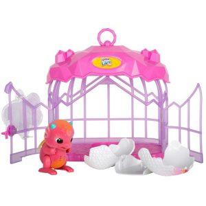 Интерактивная игрушка Дракончик в клетке Little Live Pets