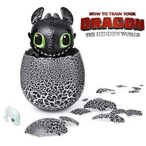 Игрушка Дракон Беззубик из яйца Hatchimals Как приручить дракона Spin Master