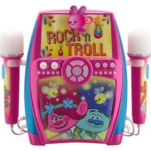 Караоке машина Тролли Вечеринка у Розочки Rock-n-Trolls Karaoke Machine