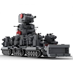 Игрушка модель Танк Гигант КВ-44 из мультфильма Геранд