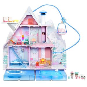 Дом-шале зимний ЛОЛ Chalet DollHouse LOL Surprise Winter Disco