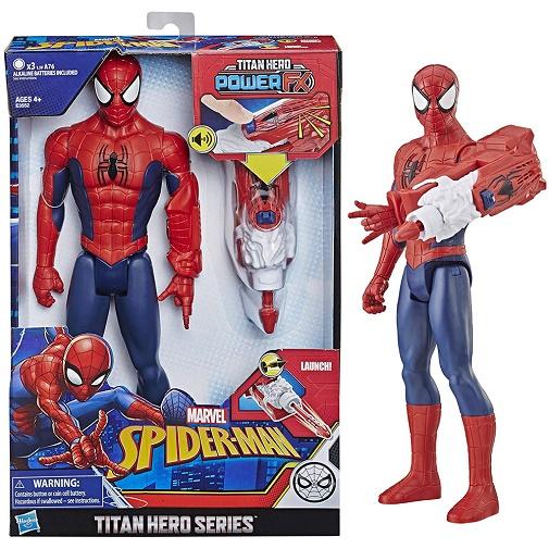 Игрушка фигурка Человек-паук с устройством Power FX Spider-Man Marvel