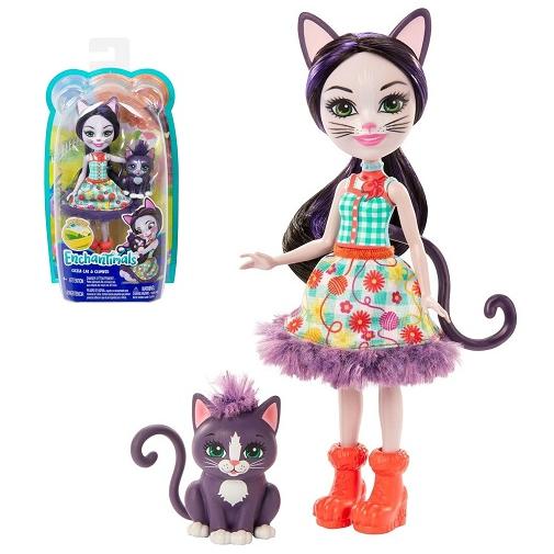 Кукла кошка Сиеста с котенком Siesta Cat & Climber Enchantimals