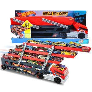 Автовоз мега тягач Hot Wheels Mega Hauler CKC09