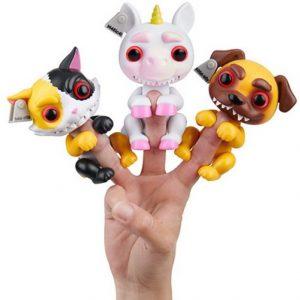Гримлингс интерактивная игрушка Grimlings Fingerlings Wowwee