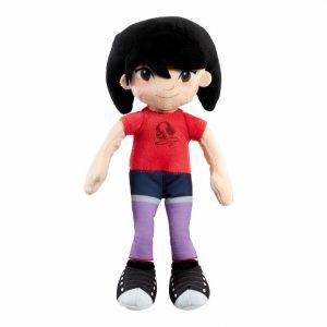 Кукла Лу мягконабивная 18 см Эверест Abominable DreamWorks