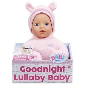 Кукла для сна Baby Born колыбельная Goodnight Lullaby