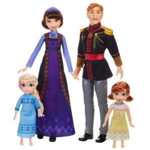 Набор 4 куклы Королевская семья Эренделла Холодное сердце-2 Disney Hasbro