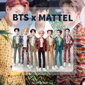 Кукла БТС коллекционная BTS Idol Matte