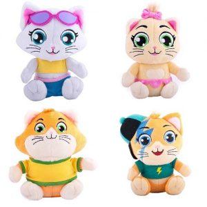 Мягкая игрушка 44 котенка в ассортименте (Пилу, Лампо, Пончик, Миледи)