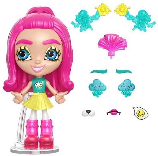 Кукла конструктор Lotta Looks 100 комбинаций Mattel