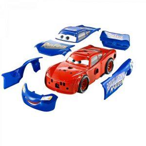 Машинка Маккуин со сменными деталями Cars Fall Line