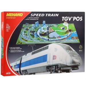 Mehano Железная дорога TGV POS с ландшафтом