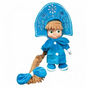 Мягкая озвученная игрушка Маша-снегурочка 25 см Мульти-Пульти