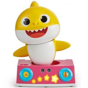 Игрушка Танцующая желтая Акула Pinkfong Baby Shark Dancing DJ Wowwee