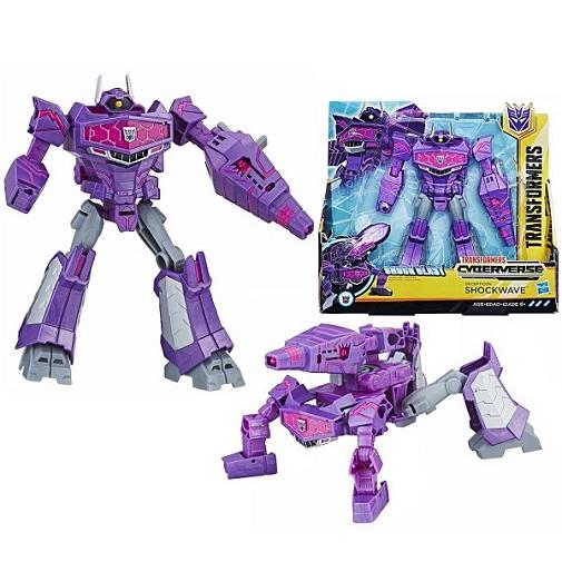 Игрушка трансформер Шоквейв Кибервселенная Autobot Shockwave Transformers