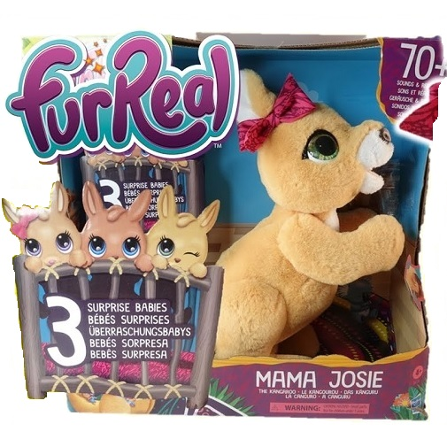 Интерактивная игрушка Кенгуру Мама Josie Kangaroo FurReal Friends
