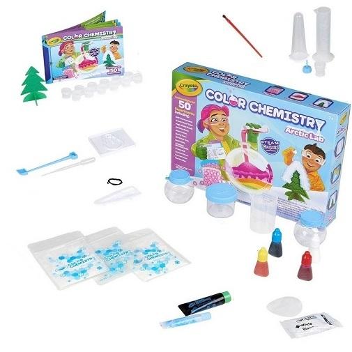 Набор экспериментов Арктическая лаборатория цветной химии Crayola