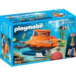 Playmobil Игровой набор Подводная лодка с подводным двигателем 9234