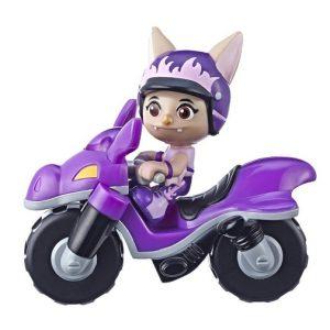 Игрушка фигурка Бетти на мотоцикле Отважные птенцы Top Wing Hasbro