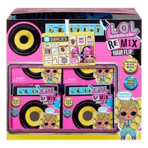 Кукла музыкальная ЛОЛ Surprise Song Remix Hairflip LOL