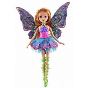 Модная кукла Флора Винкс (8 сезон) Spinning Enchantix Winx