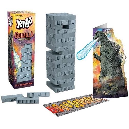 Новая игра Дженга Годзилла Jenga Godzilla Extreme Edition