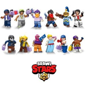 Фигурки для Лего Бравл Старс (12 шт) Brawl Stars